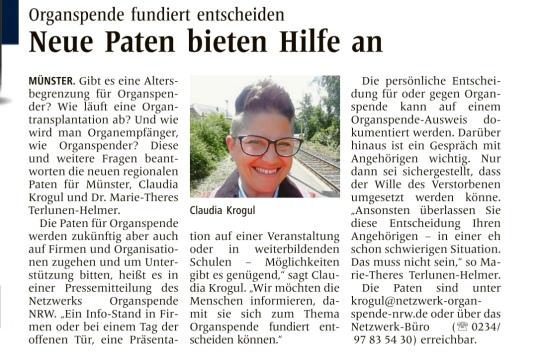 Westfälische Nachrichten Juli 2019